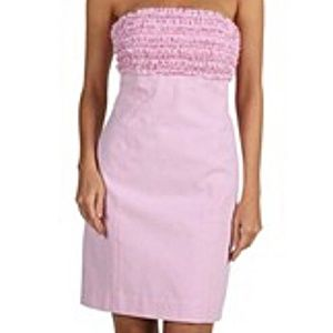 Lilly Pulitzer Franco Seersucker Strapless Dress 4